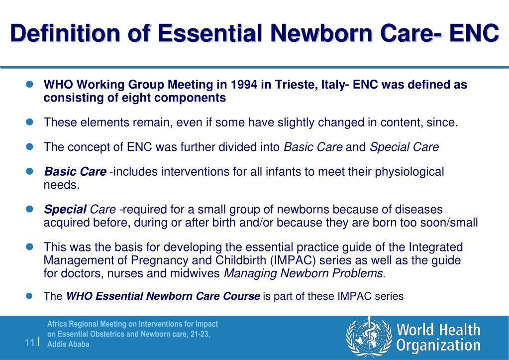 PPT - Essential Newborn Care PowerPoint Presentation - ID