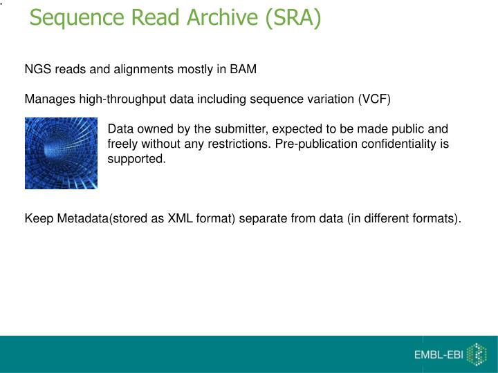 Sequence read archive sra