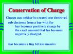 conservation of charge1