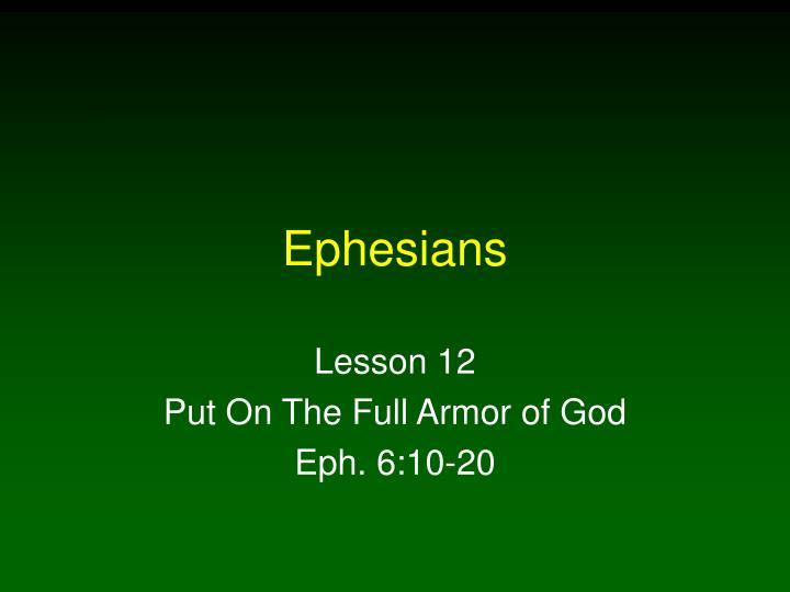 ephesians n.