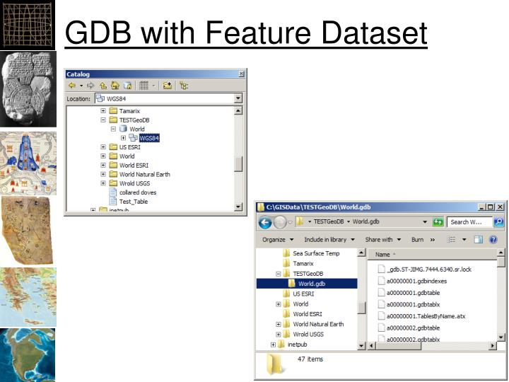GDB with Feature Dataset