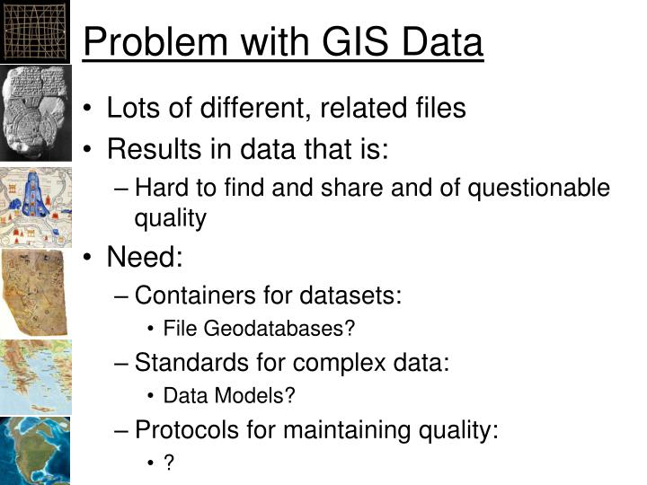 Problem with gis data