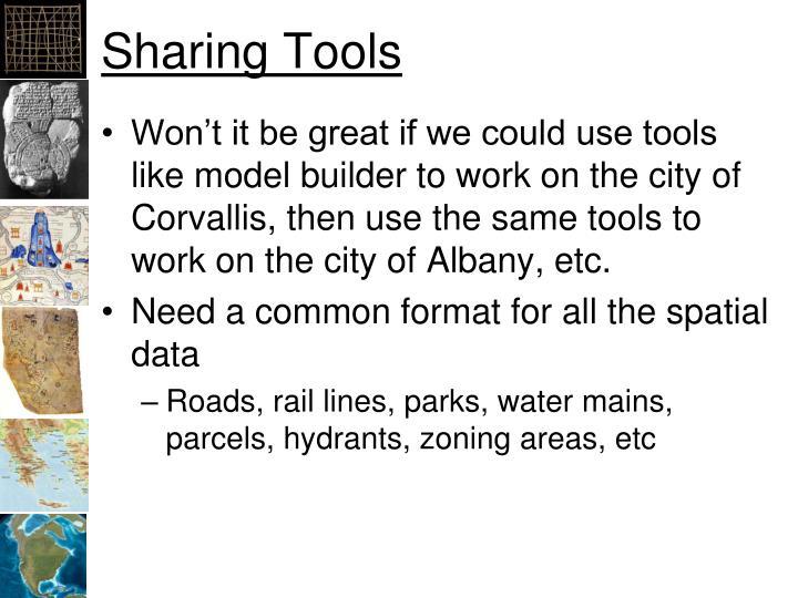 Sharing Tools