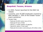 snapshot tucson arizona