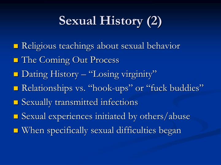 Sexual History (2)