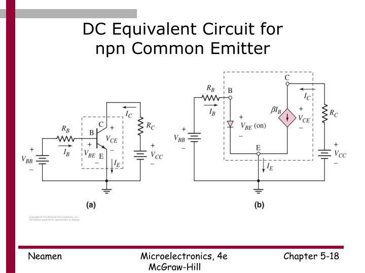 Ppt Microelectronics Circuit Analysis And Design Powerpoint