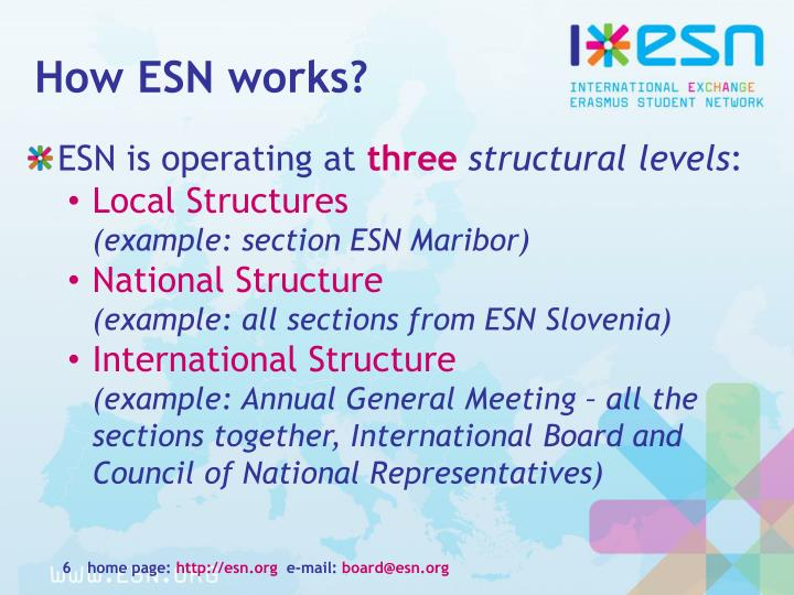 How ESN works?