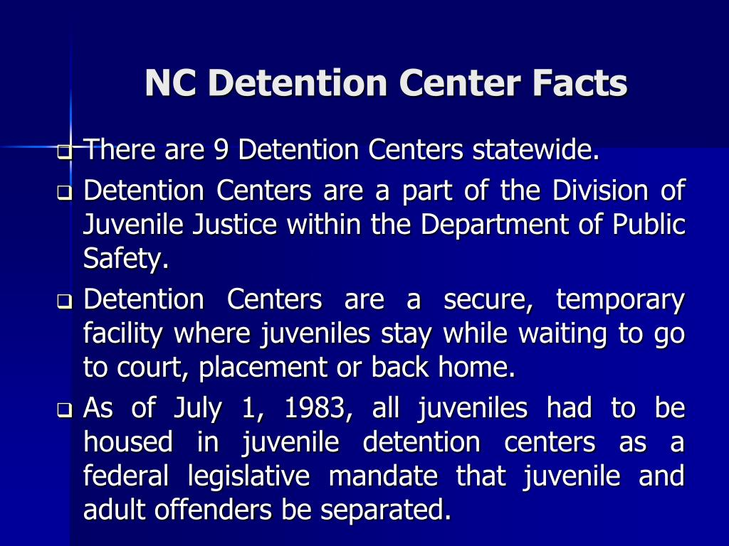 PPT - CUMBERLAND REGIONAL JUVENILE DETENTION CENTER: THE