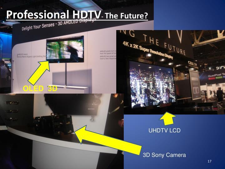 Professional HDTV
