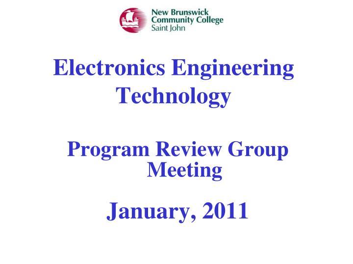 electronics engineering technology n.
