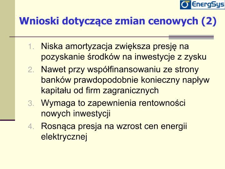 Wnioski dotyczące zmian cenowych (2)