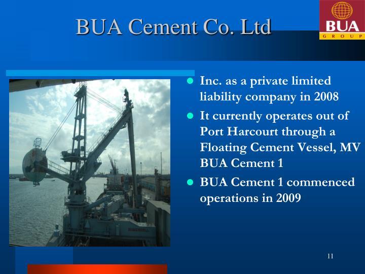 BUA Cement Co. Ltd