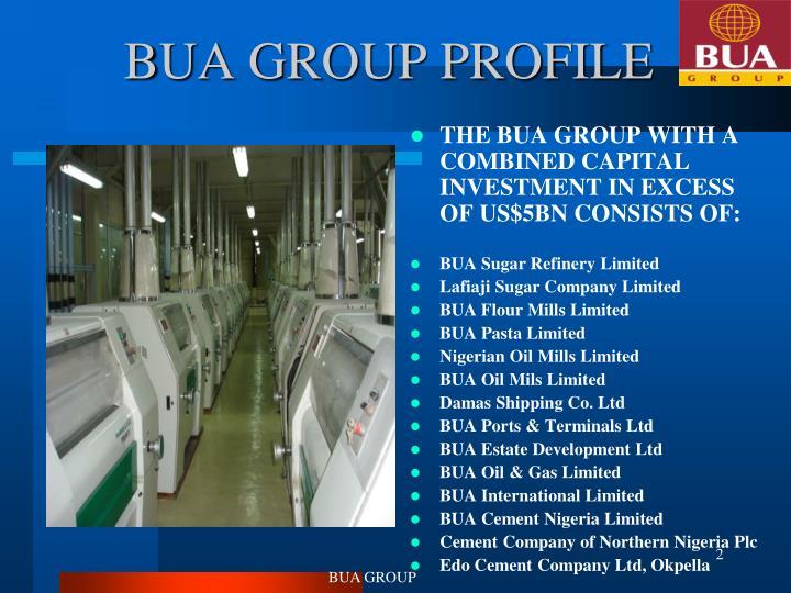 Bua group profile