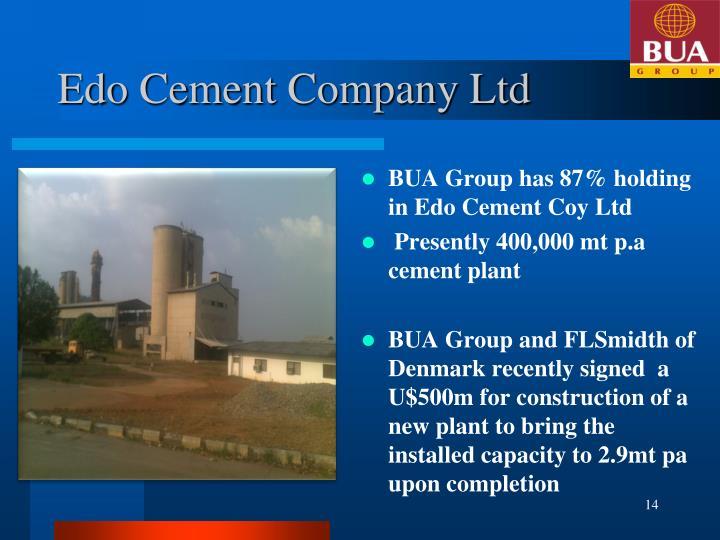 Edo Cement Company Ltd
