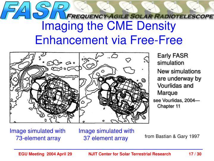 Early FASR simulation