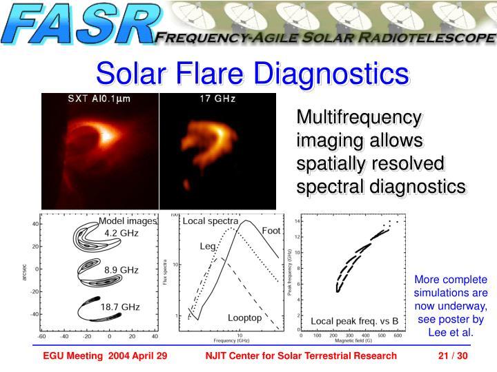 Solar Flare Diagnostics