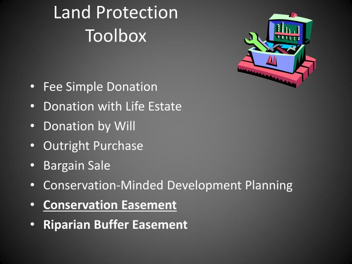Land Protection Toolbox