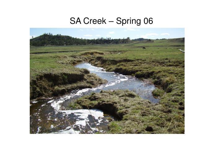 SA Creek – Spring 06