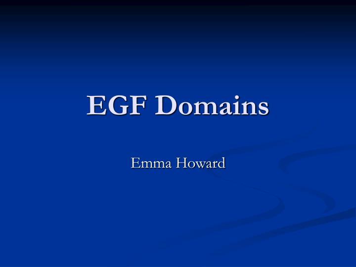 Egf domains