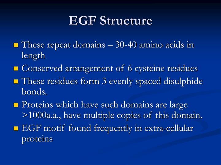 Egf structure