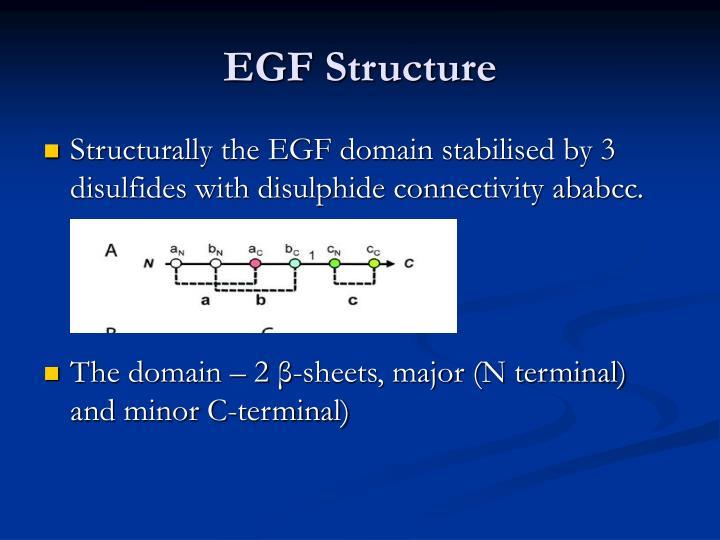 Egf structure1