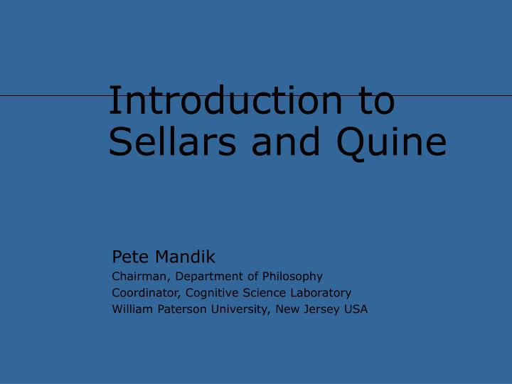 quine-duhem thesis summary Quite simply, this is one of the most accessible – and teachable – introductions to the history and philosophy of science i've seen in over two decades of teaching.