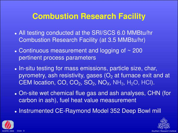 Combustion Research Facility