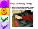 logic accuracy testing12
