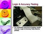 logic accuracy testing9