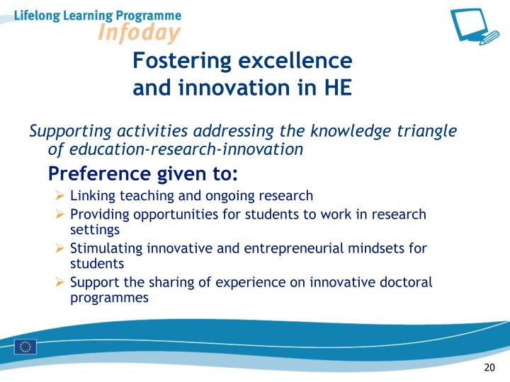 Fostering excellence