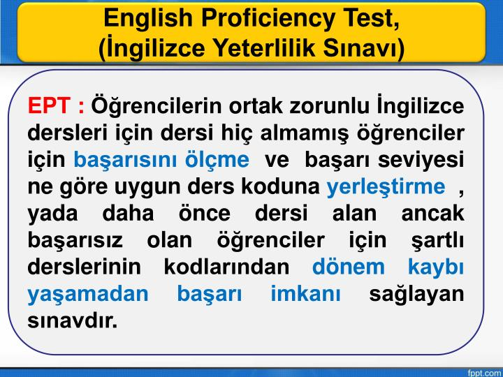english proficiency test Applicants who have english as a second language must meet specific english proficiency requirements there are four tests listed, including, the toefl test, ielts, pte, and cambridge english.