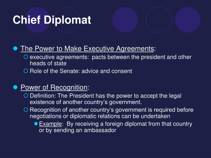 Ppt Powers And Roles Of The President Powerpoint Presentation Id