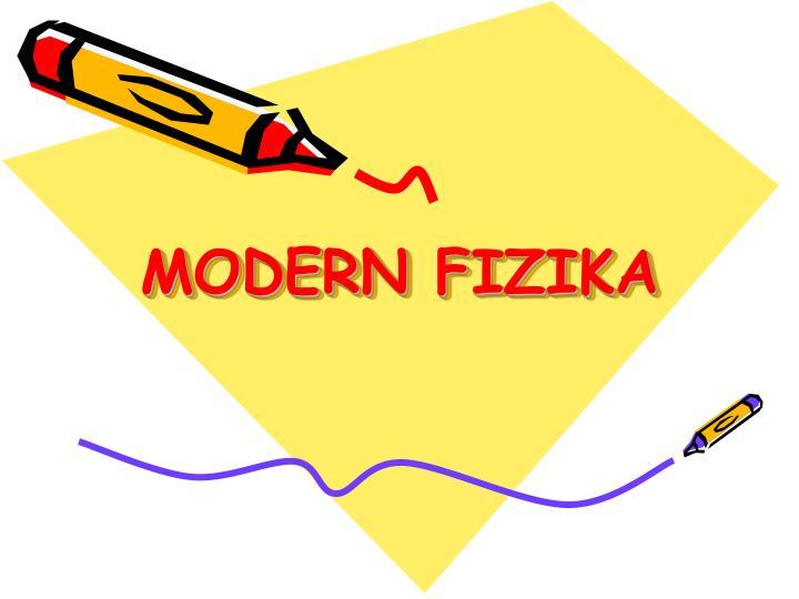 modern fizika n.