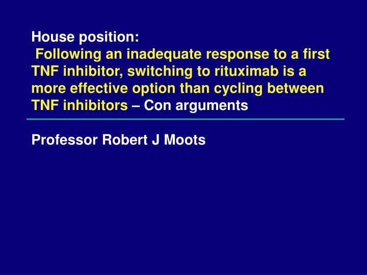 professor robert j moots