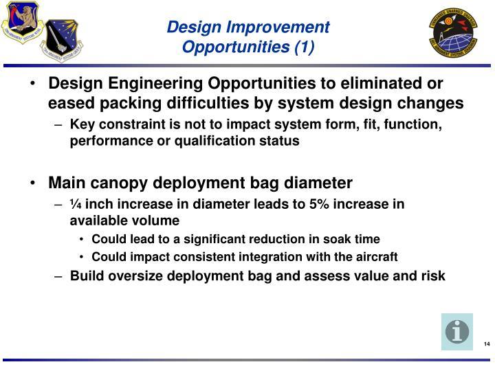 Design Improvement