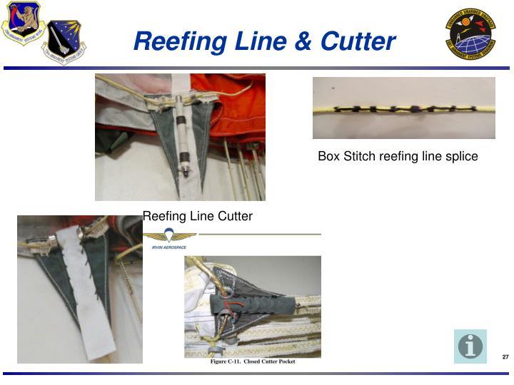 Reefing Line & Cutter