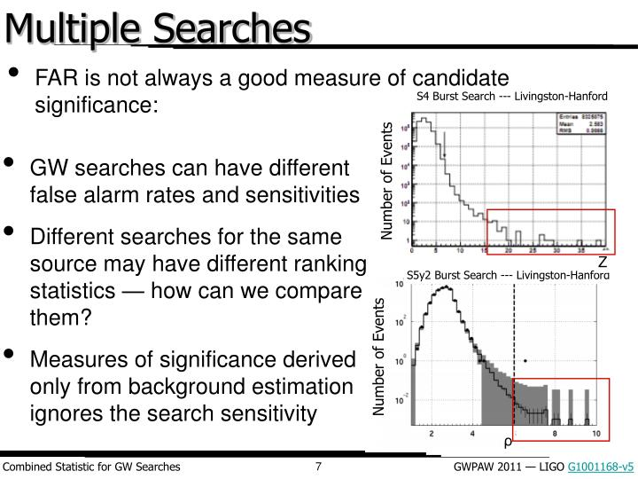 Multiple Searches