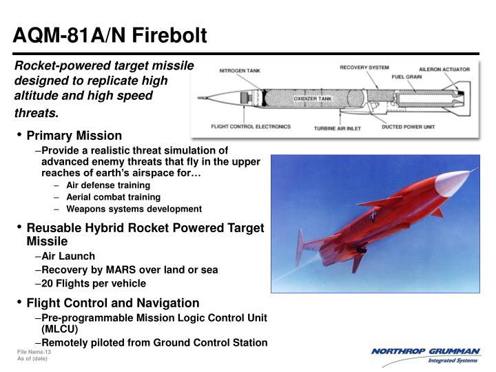 AQM-81A/N Firebolt