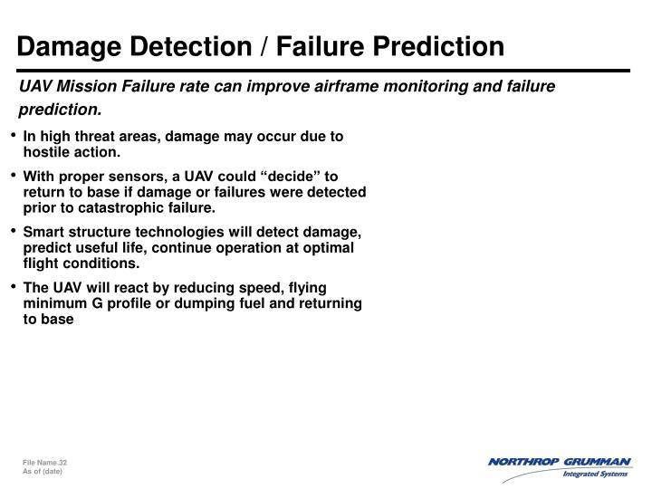 Damage Detection / Failure Prediction