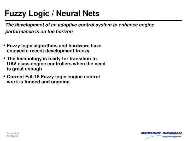 Fuzzy Logic / Neural Nets