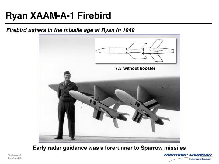 Ryan XAAM-A-1 Firebird
