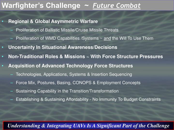 Warfighter's Challenge  ~