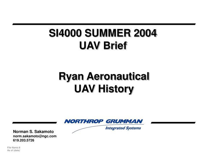 SI4000 SUMMER 2004