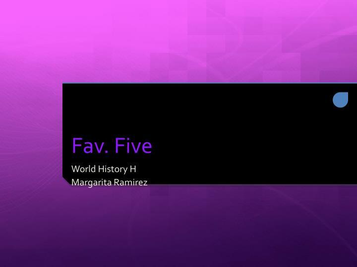 fav five n.