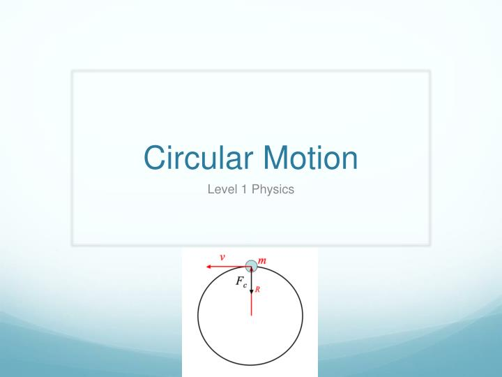 "physics lab circular motion This lab discusses centripetal force and uniform circular motion uniform circular motion is ""motion that occurs when an object has constant speed and a constant radius"" (2)."
