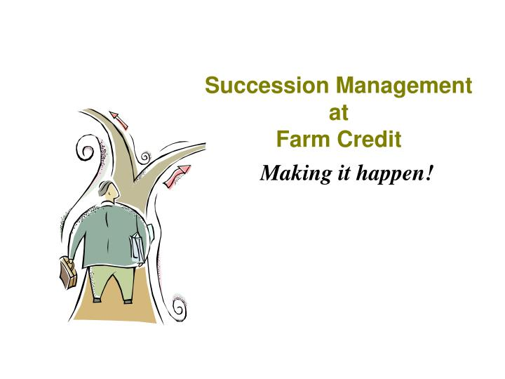 succession management at farm credit n.