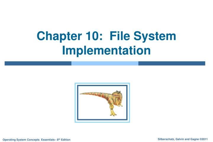 chapter 10 file system implementation n.
