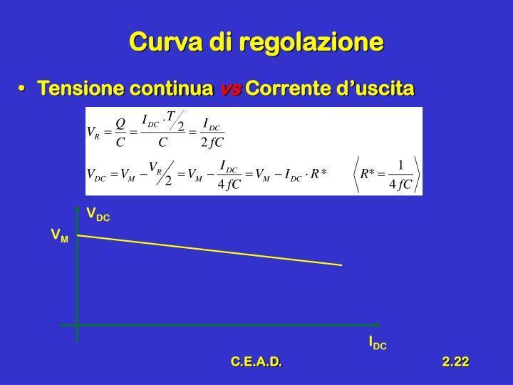 Curva di regolazione