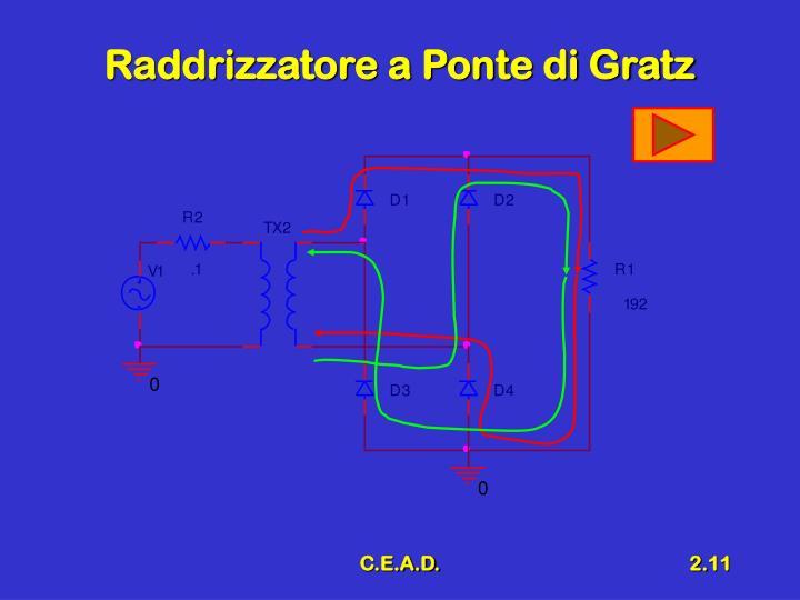 Raddrizzatore a Ponte di Gratz