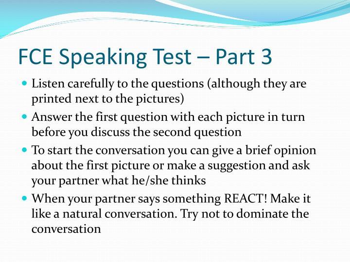 fce speaking test part 3 n.